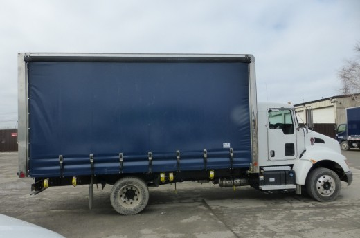 16' Curtains Sider on Kenworth T170
