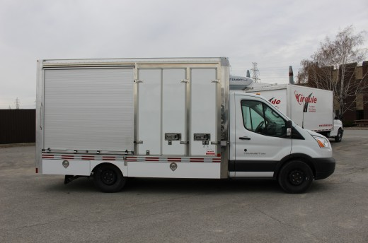 13' Arctik™ Truck body on Ford T350