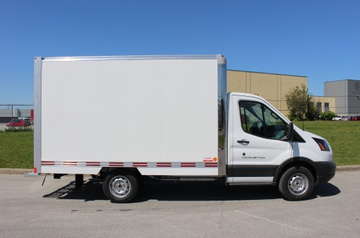 12' Classik™ Truck body on Ford T350