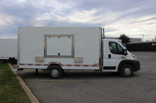 15' Arctik™ Truck body on FCA ProMaster 3500