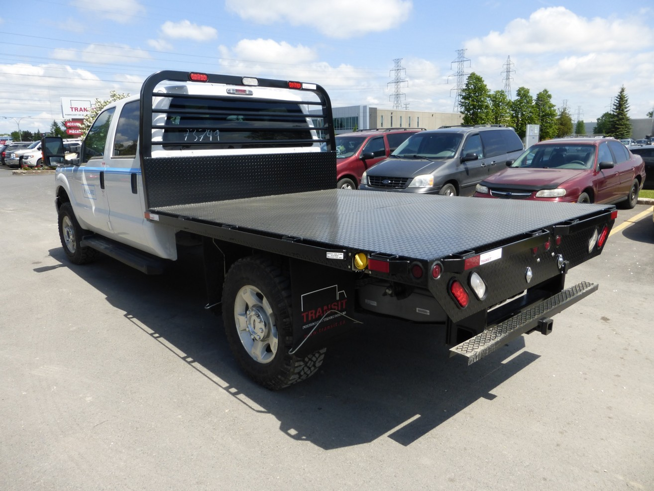 Ford Transit Cutaway >> 9' Flatbed on Ford F350 Crew Cab | Transit