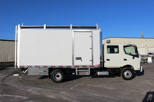 16' Classik™ Truck body on Hino 195 Crew Cab