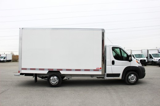 14' Classik™ Truck body on FCA ProMaster 3500