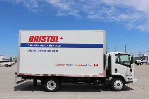 16' Classik™ Truck body on Isuzu NPR-HD