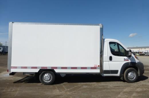 14' Classik™ Truck body on FCA Promaster 4500
