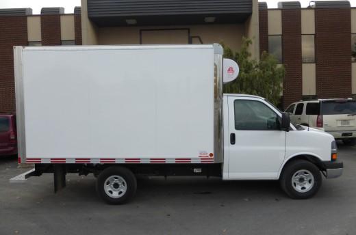 12' Arctik™ Truck body on Chevrolet 6
