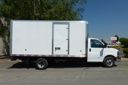16' Arctik™ Truck body on GMC 33903