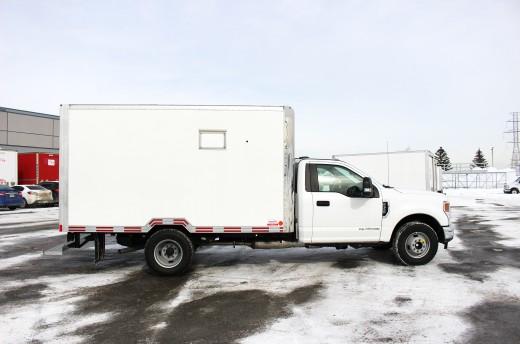 12' Arctik™ Truck body on Ford F350