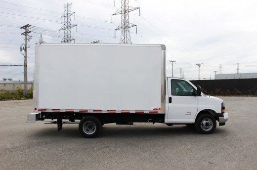 14' Arctik™ Truck body on Chevrolet 33803