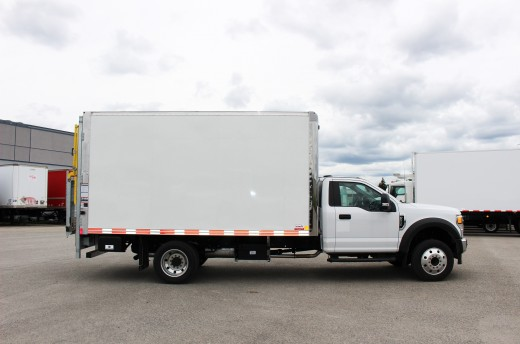 14' Arctik™ Truck body on Ford F550
