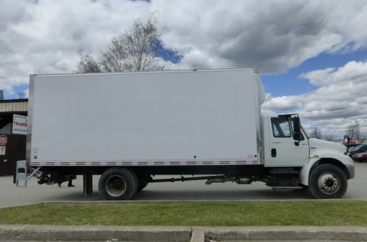 22' Arctik™ Truck body on International 4300