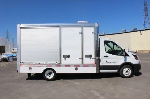 13' Arctik™ Truck body on Ford T350