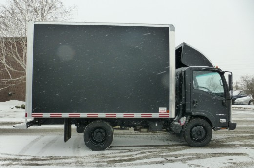 12' Classik™ Truck body on Isuzu NPR