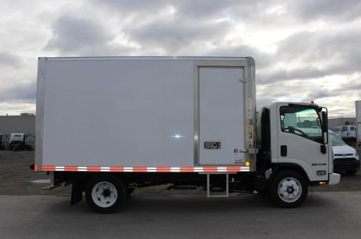 14' Classik™ Truck body on Isuzu NPR