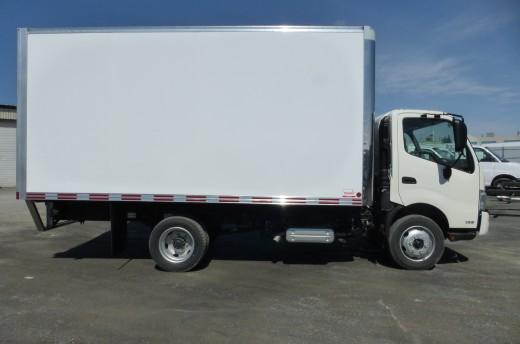 16' Classik™ Truck body on Hino 165