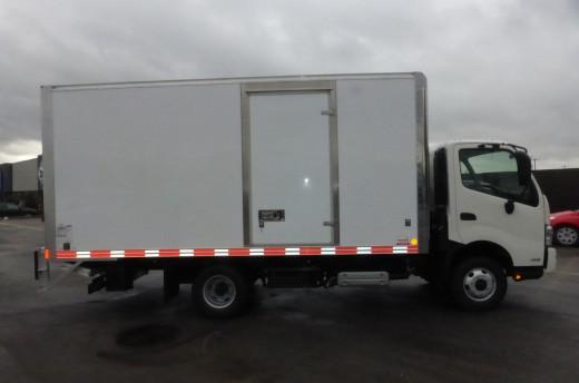 16' Classik™ Truck body on Hino 155