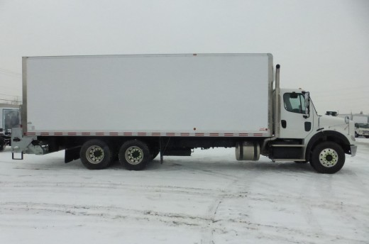 26' Classik™ Truck body on Freightliner M2-112
