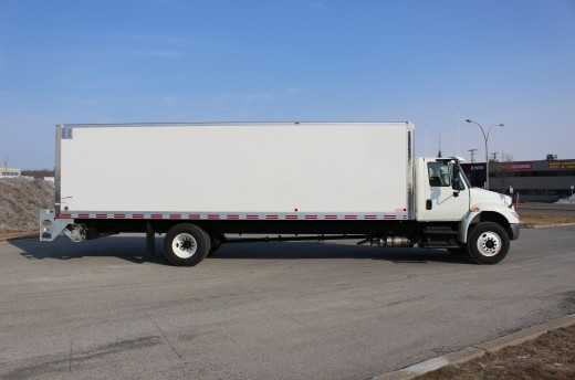 28' Classik™ Truck body on International 4300