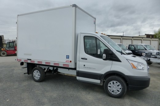 10' Frio™ Truck body on Ford T250