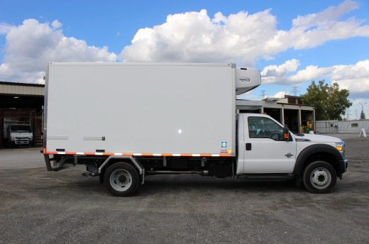 14' Frio™ Truck body on Ford F550