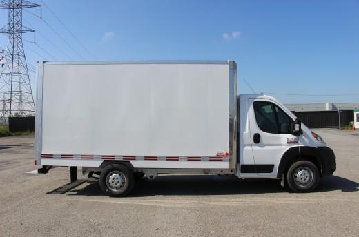 12' Classik™ Truck body on FCA ProMaster 3500