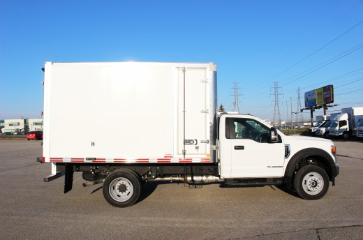 11.75' Classik™ Truck body on Ford F550