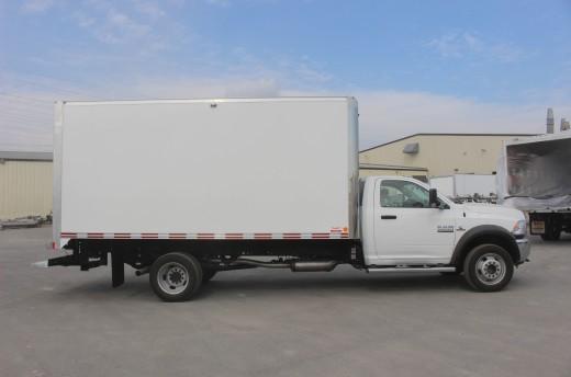 16' Classik™ Truck body on FCA RAM 5500
