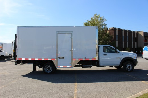 18' Classik™ Truck body on FCA RAM 5500