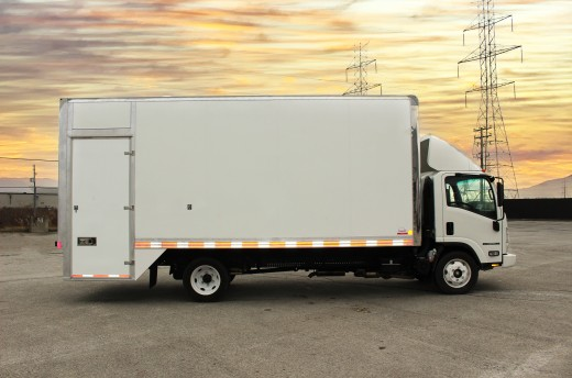 20' Classik™ Truck body on Isuzu NPR-HD