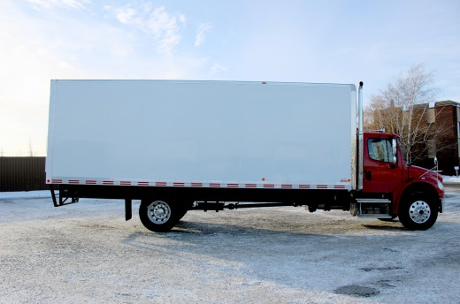 26' Classik™ Truck body on Freightliner M2