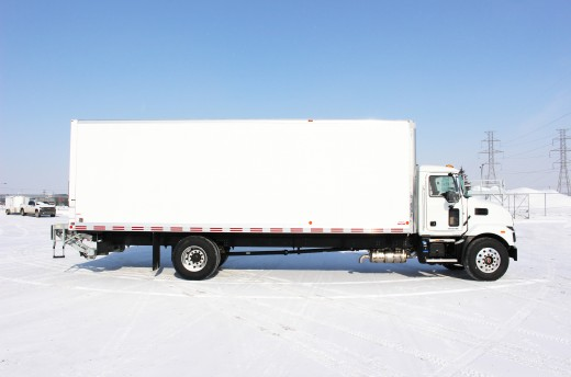 26' Classik™ Truck body on Mack MD7
