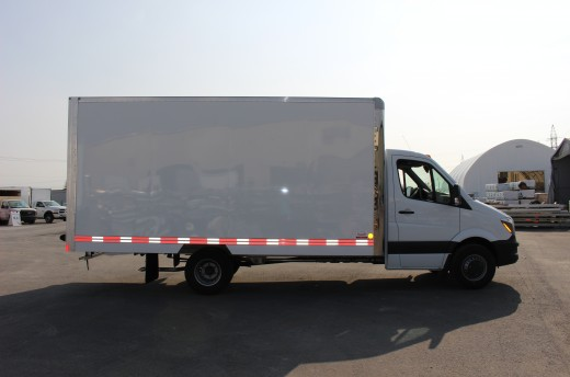 16' Classik™ Truck body on Mercedes-Benz Sprinter
