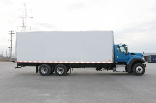 28' Classik™ Truck body on International HV607