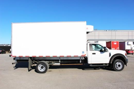 16' Frio™ Truck body on Ford F550