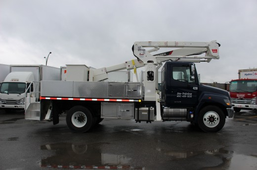 12' Flatbed on Hino 338