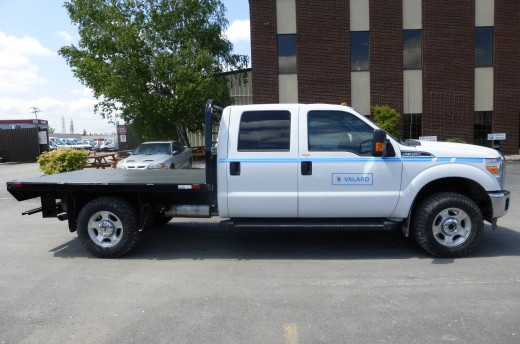 9' Flatbed on Ford F350 Crew Cab