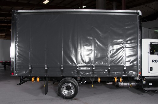 20' Curtains Sider on Kenworth T170