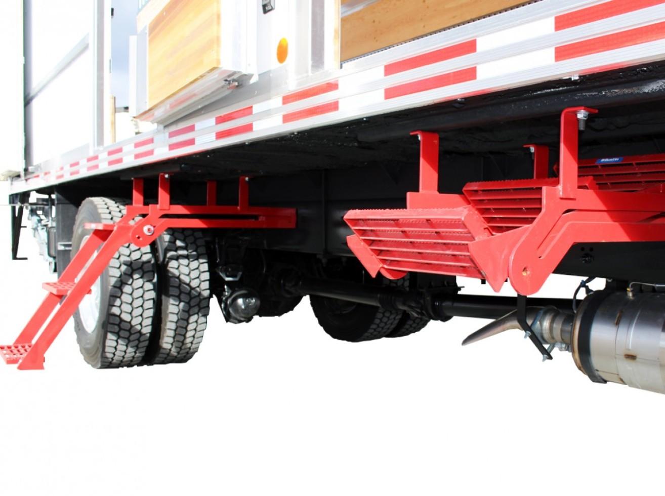 Aluminum Folding Ramps >> Bustin retractable triple steps | Transit