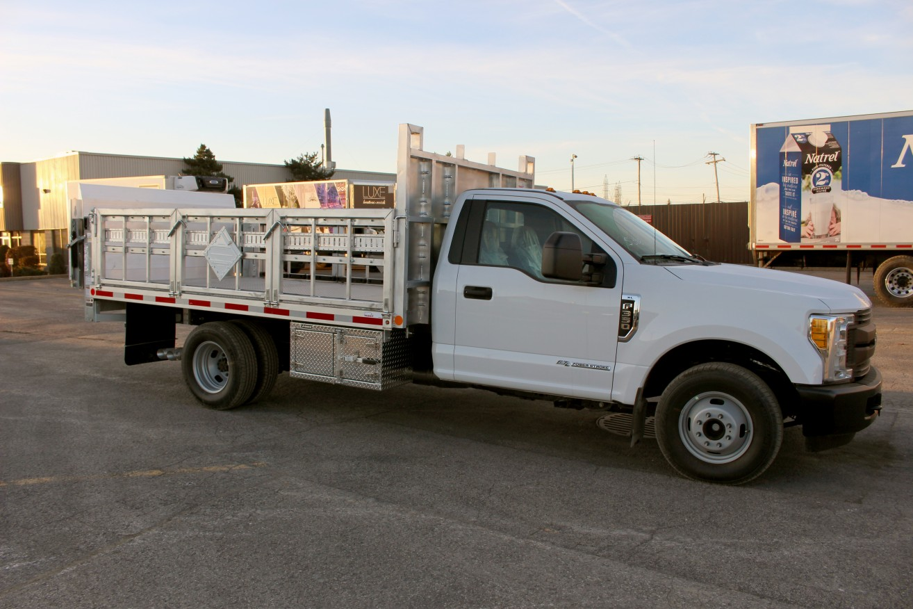12 Flatbed On Ford F350 Transit